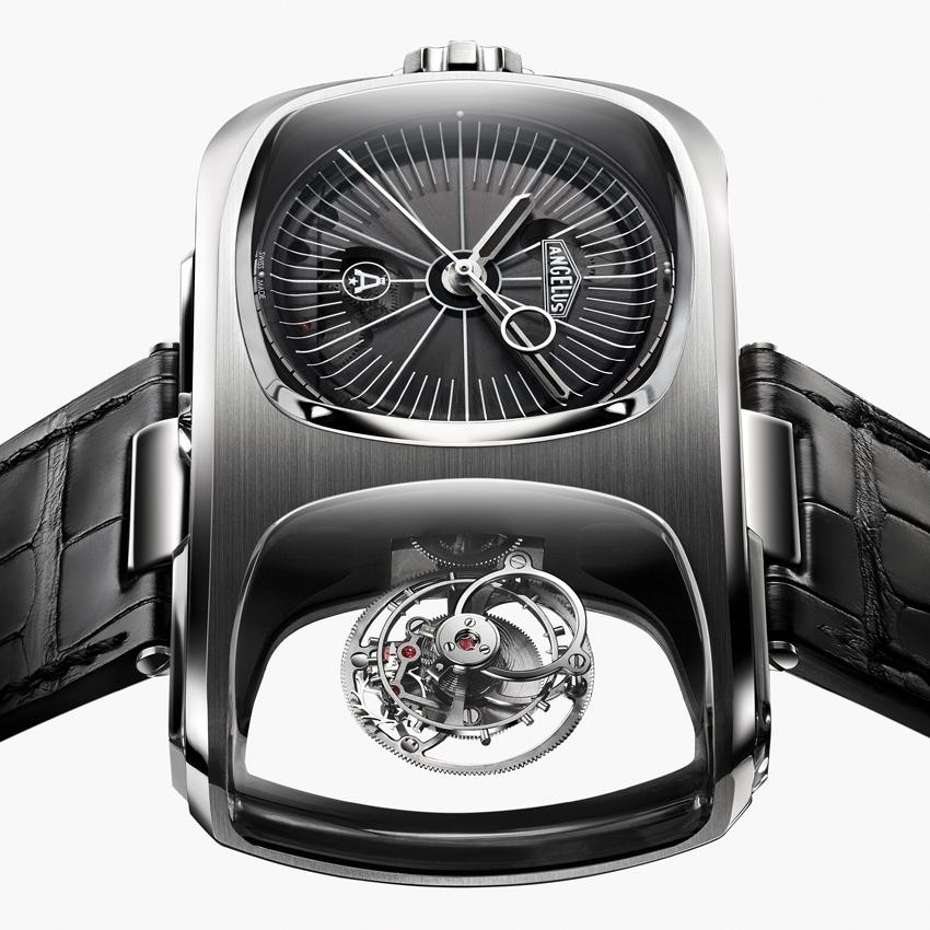 ANGELUS U10 Tourbillon Lumière avant-garde wristwatch-2016 model - baselworld 2016