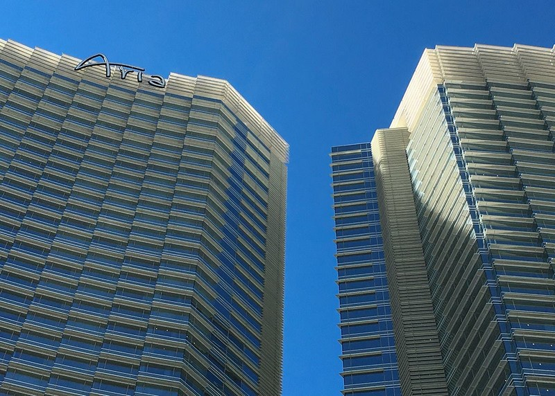 ARIA Resort & Casino exterior