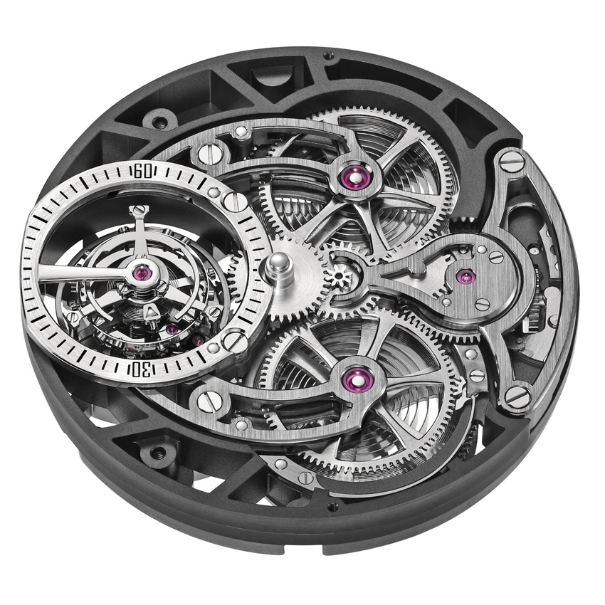ARMIN STROM Tourbillon Skeleton Earth watch-