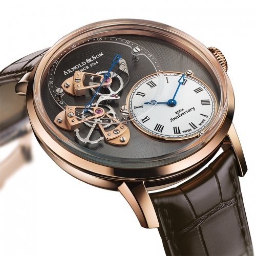 ARNOLD & SON Instrument Collection DSTB watch - baselworld 2015