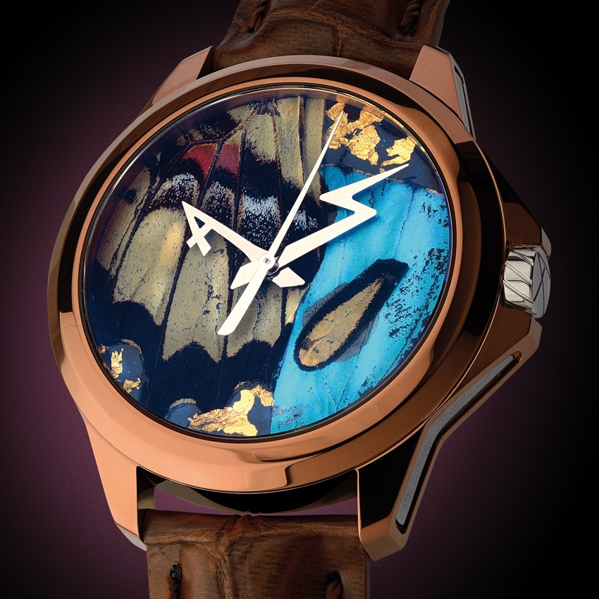 ARTYA Son of Earth Butterfly watch