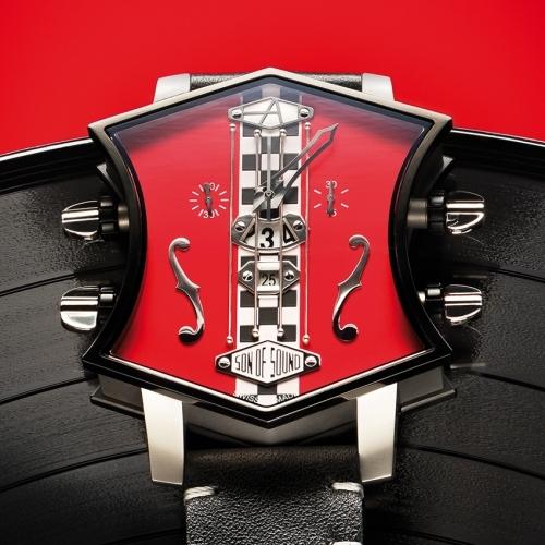 Aartya Son of Sound Guitar Race Watch - rock-star speed machine