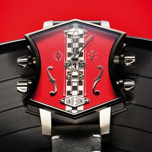 Aartya Son of Sound Guitar Race Watch - rock-star speed machine