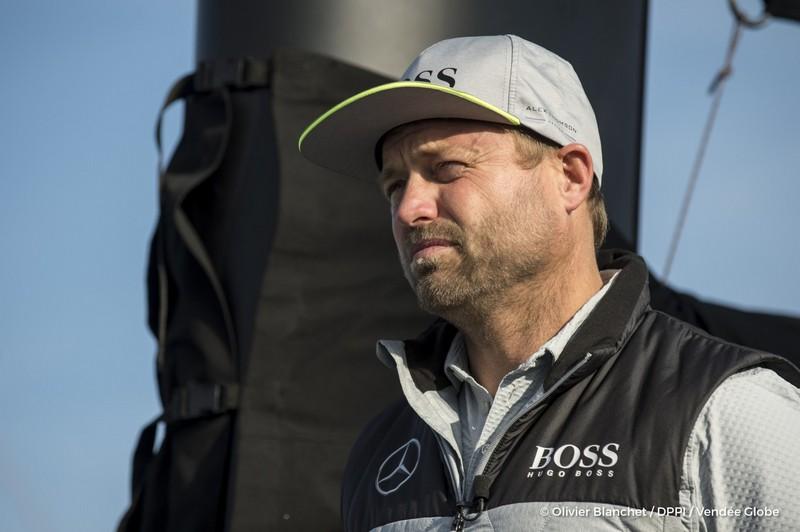 alex-thomson-gbr-skipper-hugo-boss-on-pontoons-of-the-vendee-globe