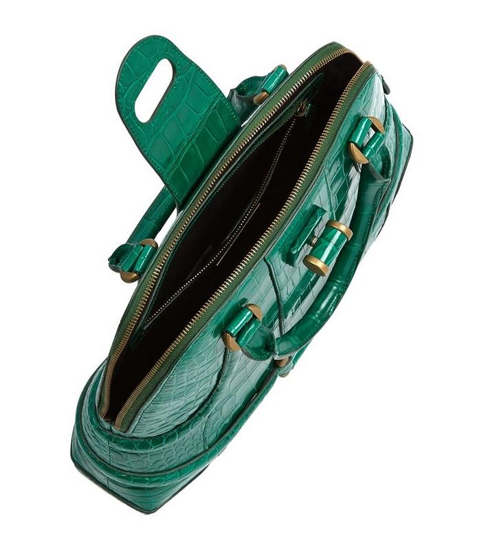 Alexander McQueen Crocodile Novak Bag -£12,495.00-details