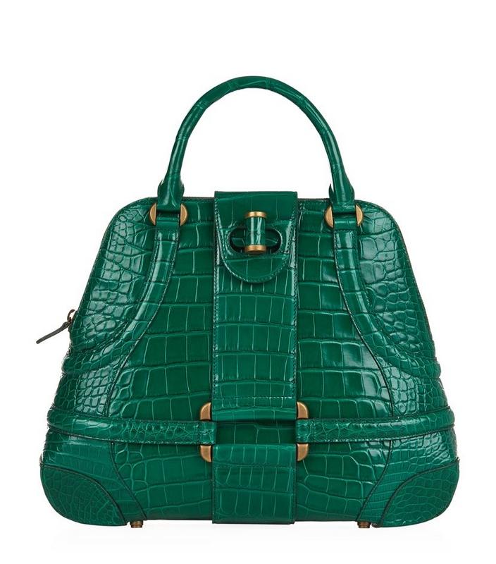 Alexander McQueen Crocodile Novak Bag -£12,495.00