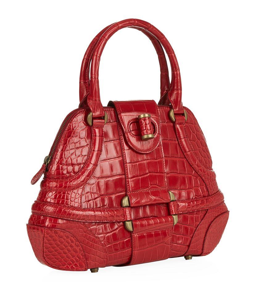 Alexander McQueen Red Novak Bag