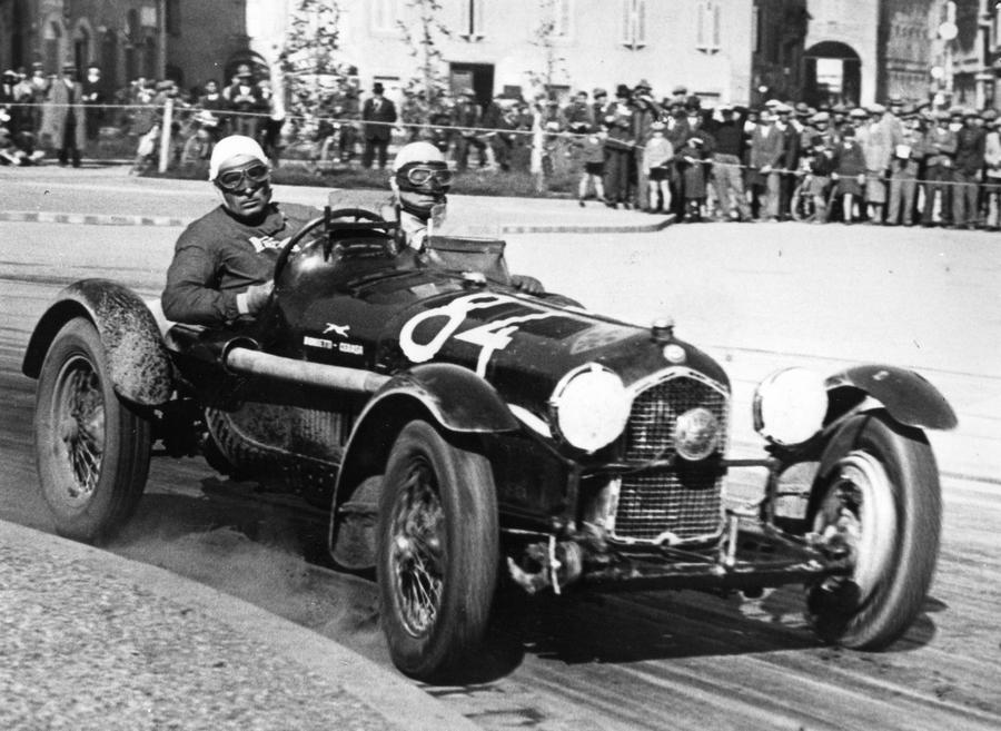 Alfa Romeo 8C Tipo B - 1935 Mille Miglia