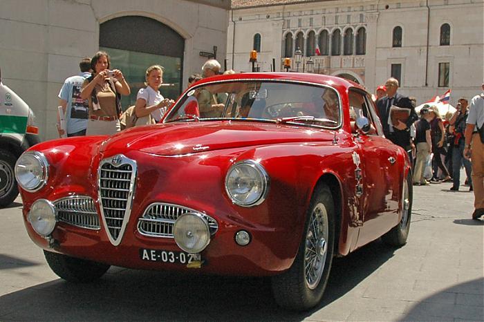 Alfa Romeo at Mille Miglia ----