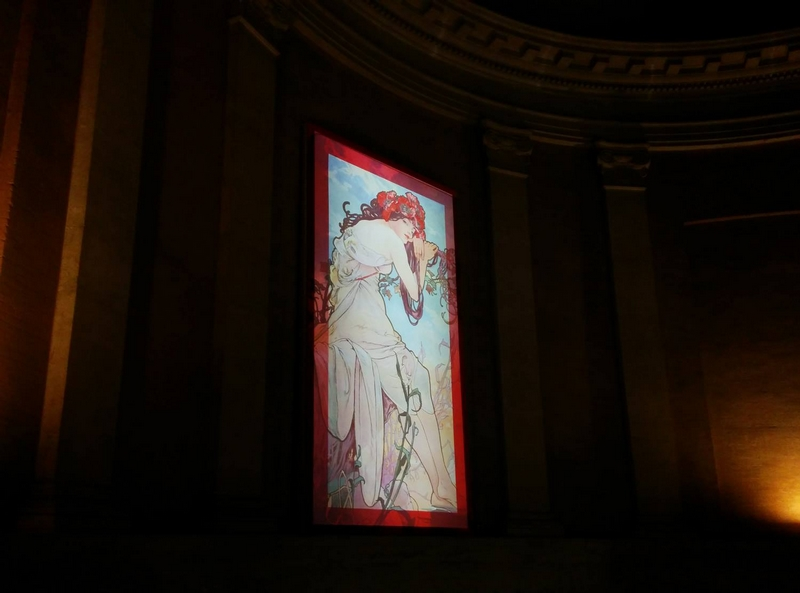 Alphonse Mucha, the Art Nouveau inventor - Rome exhibition2016-at the Vittoriano – Ala Brasini in Rome