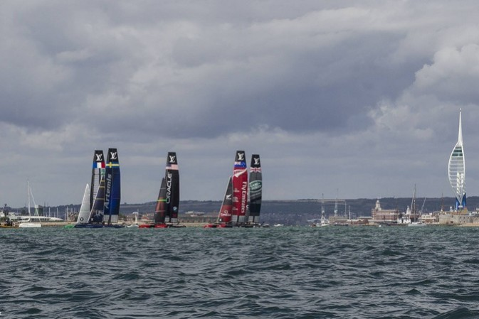 The grail of yachting: Royal congratulations for the Winner of the First Louis Vuitton America's Cup World Series