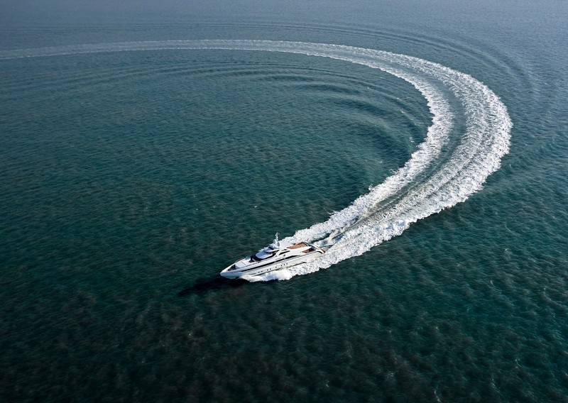 Amore Mio is the largest and most powerful sports yacht ever built in the Netherlands-