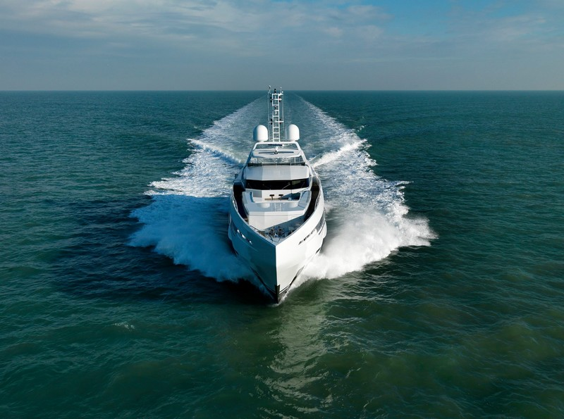 Amore Mio is the largest and most powerful sports yacht ever built in the Netherlands-2016