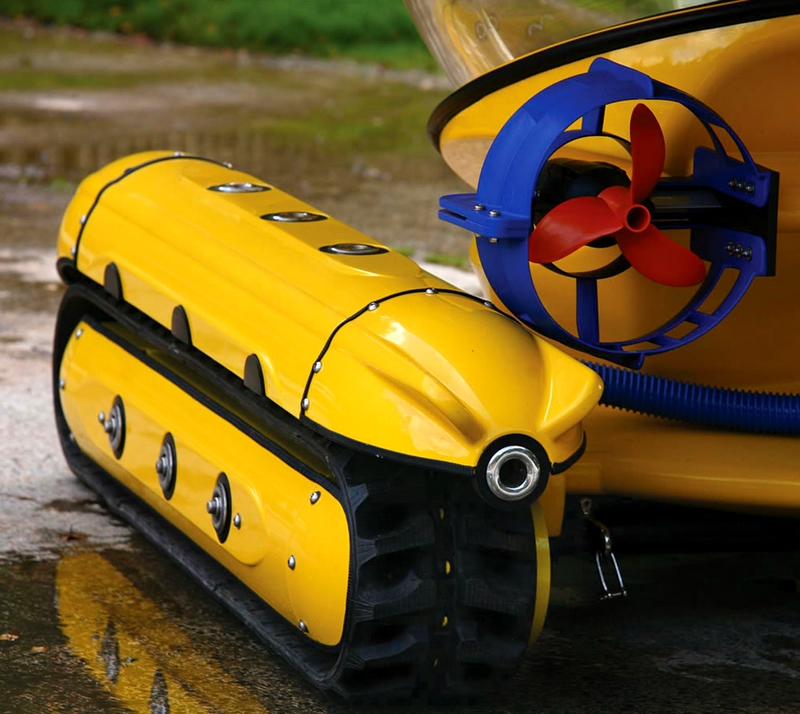 Amphibious Sub-Surface Watercraft - details