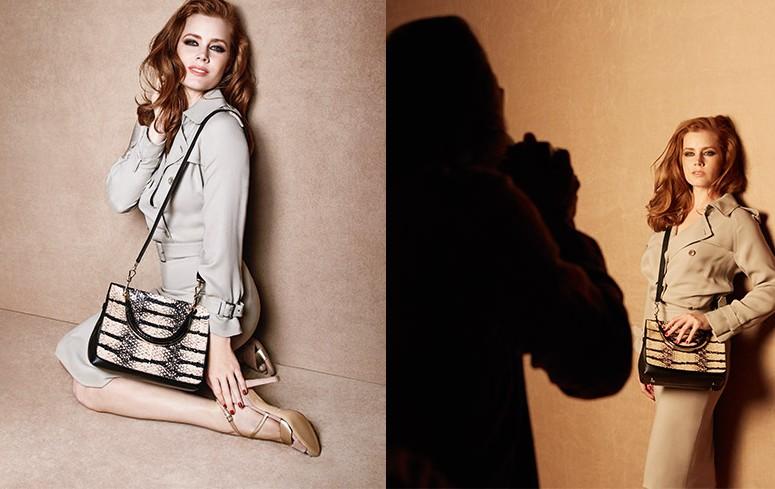 Amy Adams for Max Mara SS2016 accessories campaign