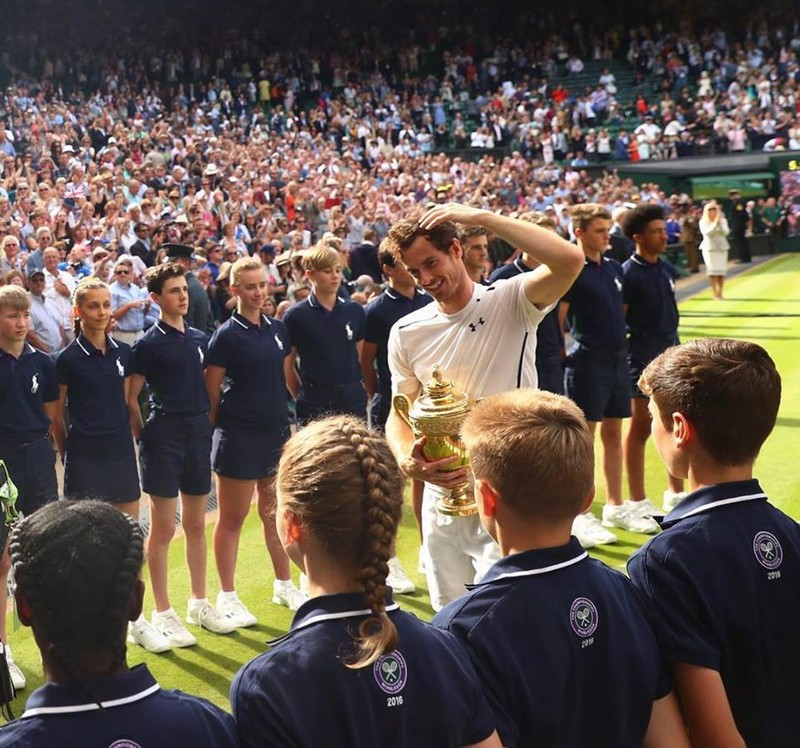 Andy Murray - 2nd Wimbledon title