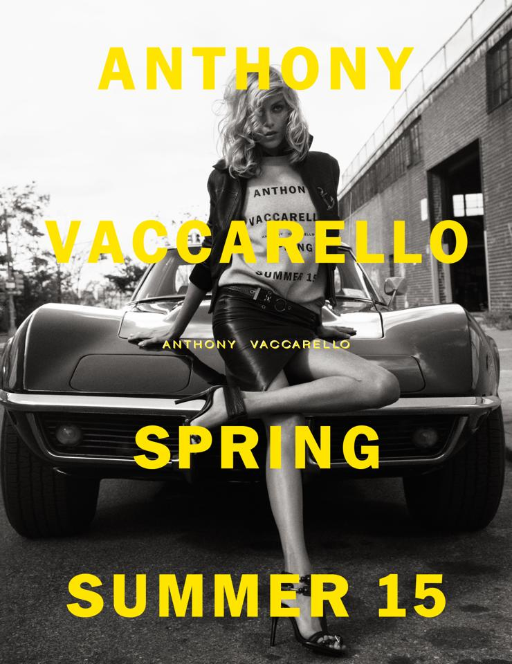 Anthony Vaccarello SS15 -