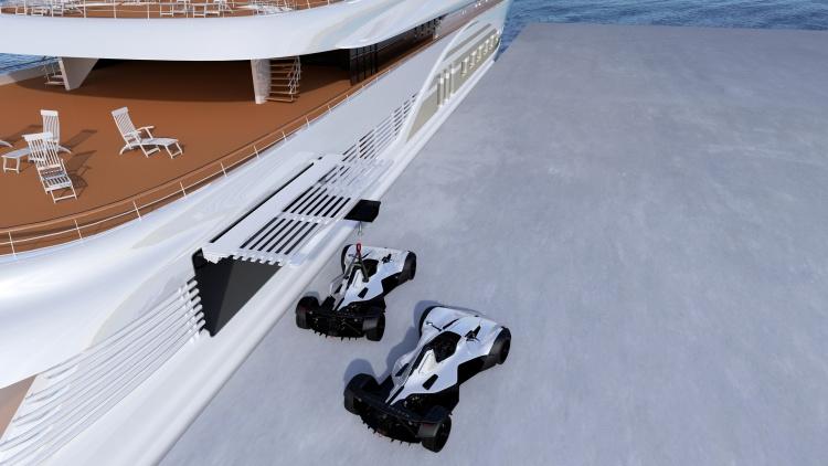 Anti-corrosive Bac'Marine Edition' supercar - custom designed for life on board the world's premier superyachts
