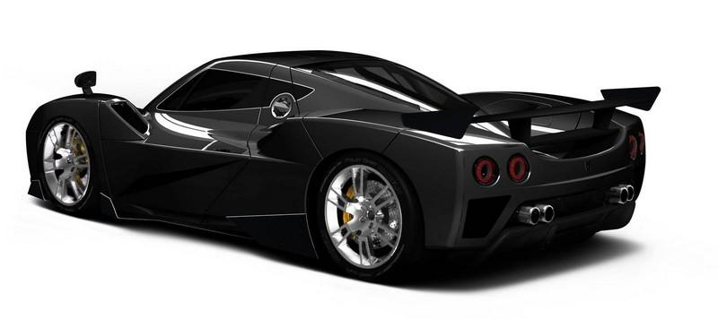Arash AF10 supercar rear lateral