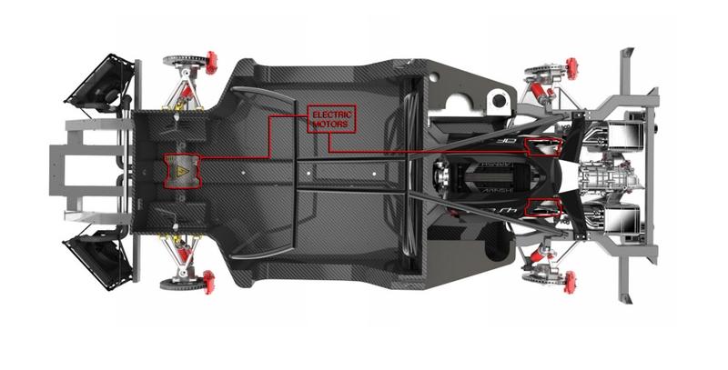 Arash AF10 warp drive system - motors