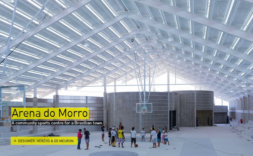 Arena do Morro - Brazil - The Designs of the Year 2015 nominees @ Design Museum London