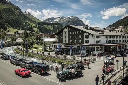 2016 Arlberg Classic Car Rally: 600 km and a beautiful alpine scenery between Tyrol and Bavaria