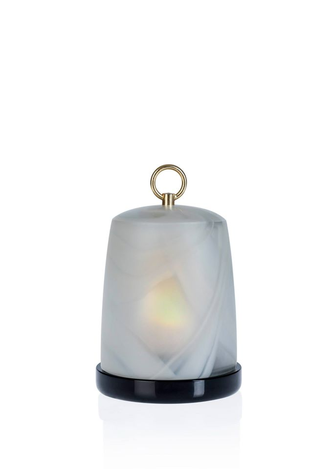 Armani Casa - Hack lamp in dove grey by #ArmaniCasa