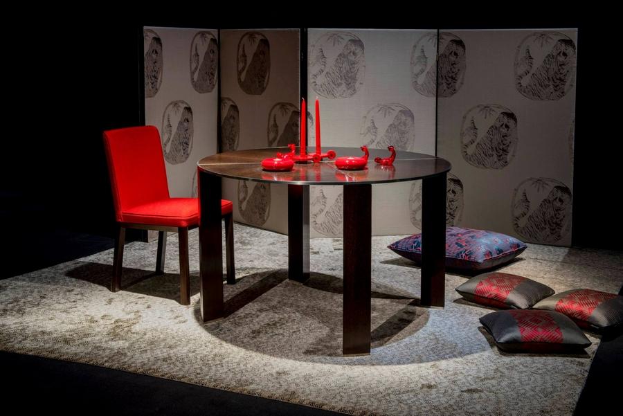 Armani Interior Design Studio's 'The Art of Living' exhibition on display at the Armani-Teatro for Salone del Mobile 2015
