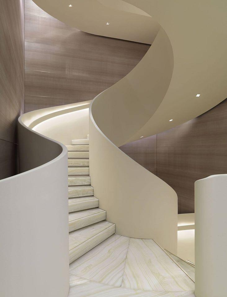 Armani - the flagship store in Milan on Via Monte Napoleone--