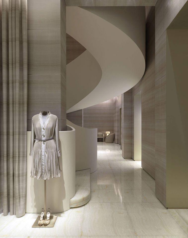 Armani - the flagship store in Milan on Via Monte Napoleone-2015