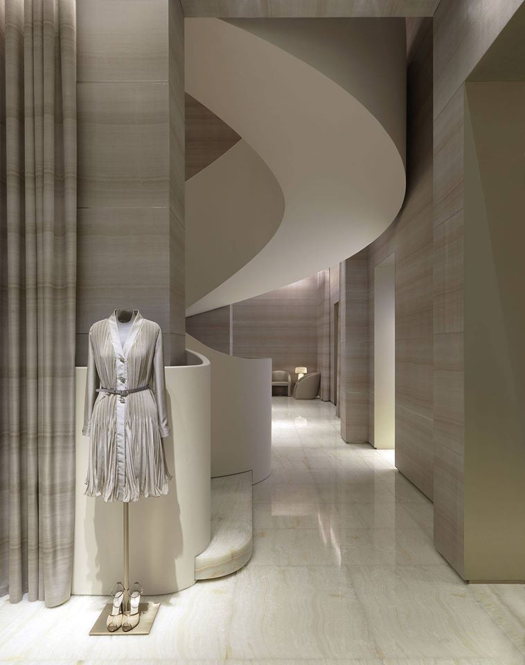 Armani - the flagship store in Milan on Via Monte Napoleone-2015