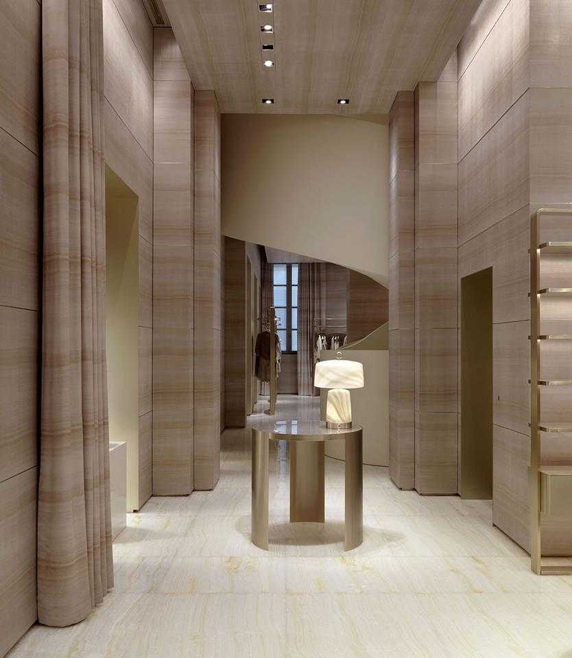 Armani - the flagship store in Milan on Via Monte Napoleone