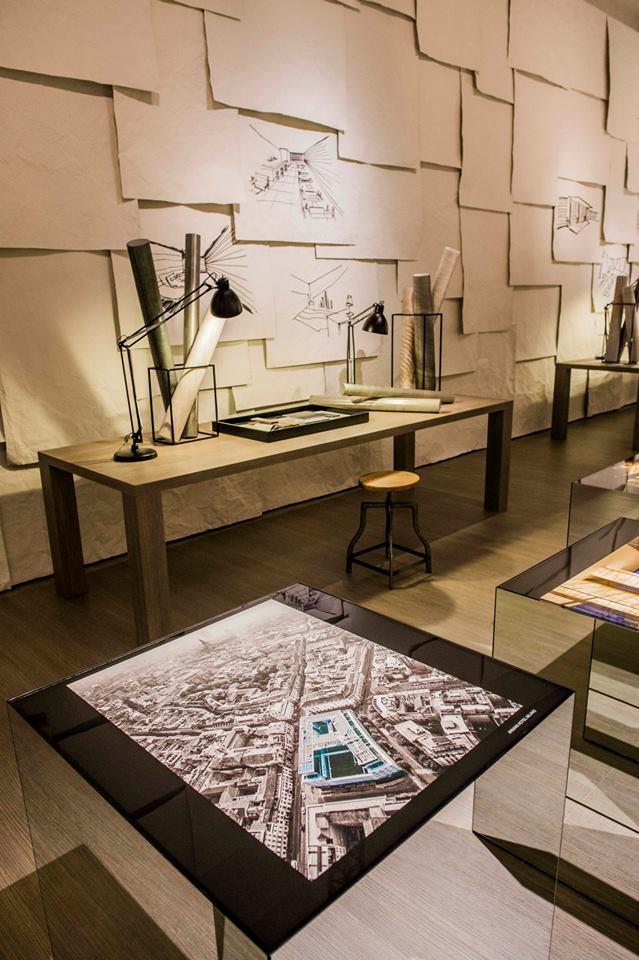 #ArmaniCasa Interior Design Studio's 'The Art of Living' on display at the Armani-Teatro for Salone del Mobile 2015.