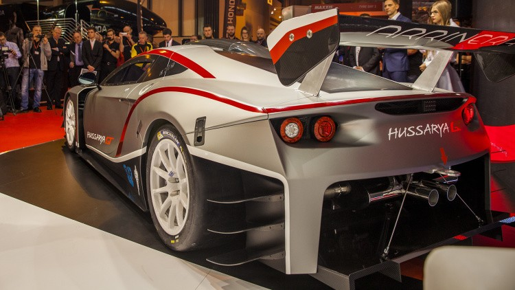 Arrinera Hussarya GT Polish race car