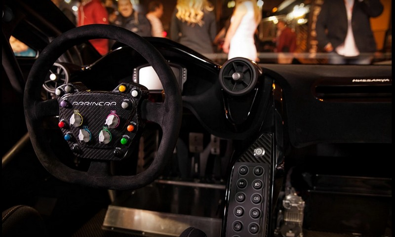 Arrinera Hussarya GT race car cockpit