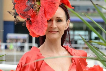 Royal Ascot Ladies' Day brings out the flowerlike frocks