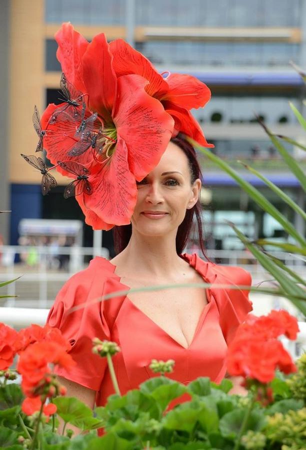 Ascot Racecourse 2015-hat