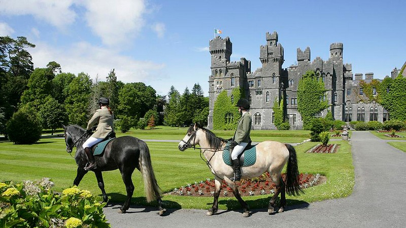 Ashford Castle – Cong, Ireland -horse riding