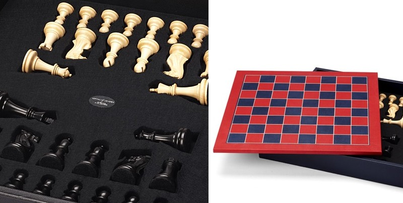 Aspinal of London luxury chess set