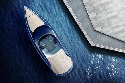 From highway to high waves: 2016 Aston Martin AM37 Quintessence Yacht