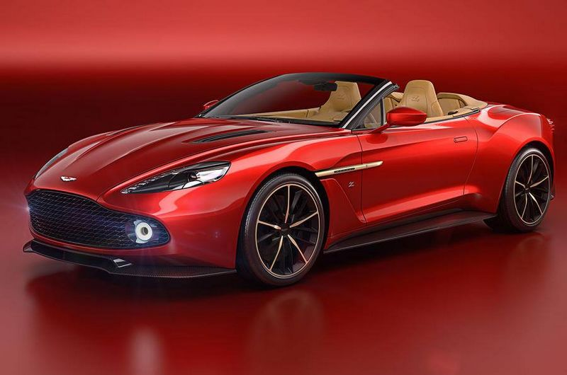 Aston Martin Vanquish Zagato Volante unveiled at 2016 Pebble Beach