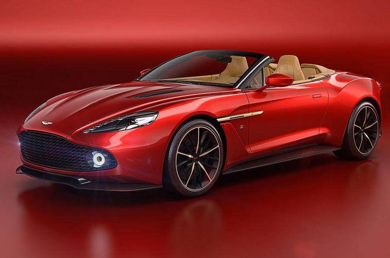 Aston Martin Vanquish Zagato Volante unveiled at 2016 Pebble Beach