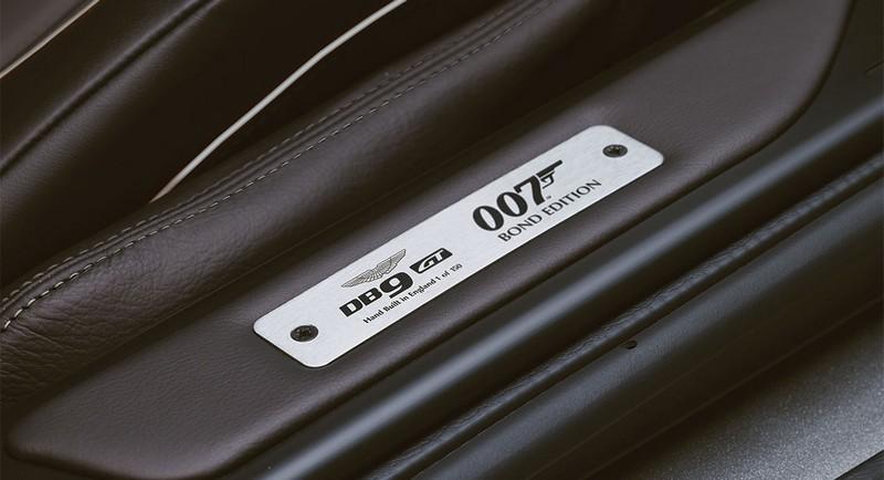 Aston Martin launching limited DB9 GT Bond Edition-
