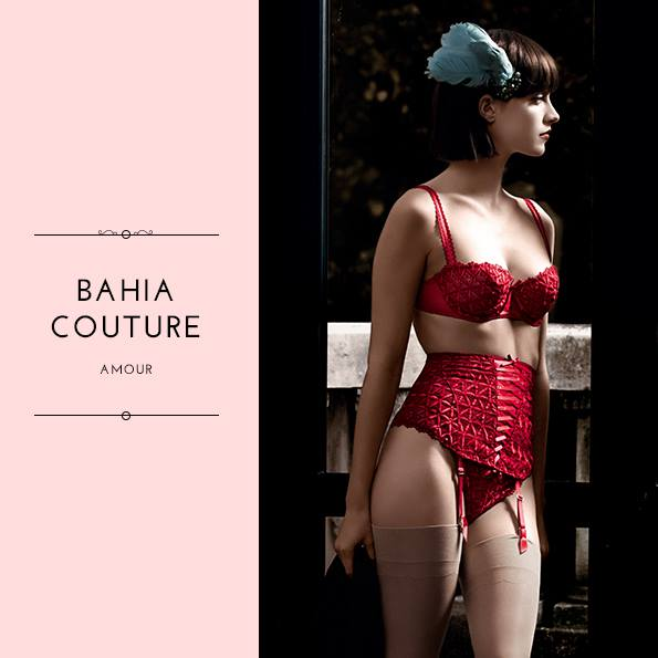 Aubade Bahia Couture Amour Collection 2015
