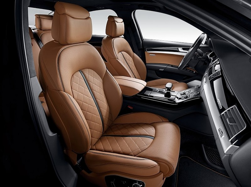 Audi A8 - the Edition 21 model - interior