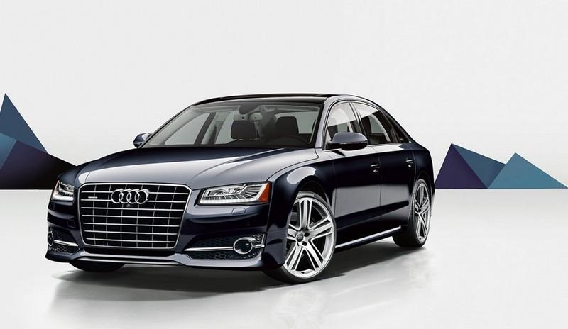 Audi A8L exterior