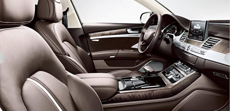 Audi A8L interior 2