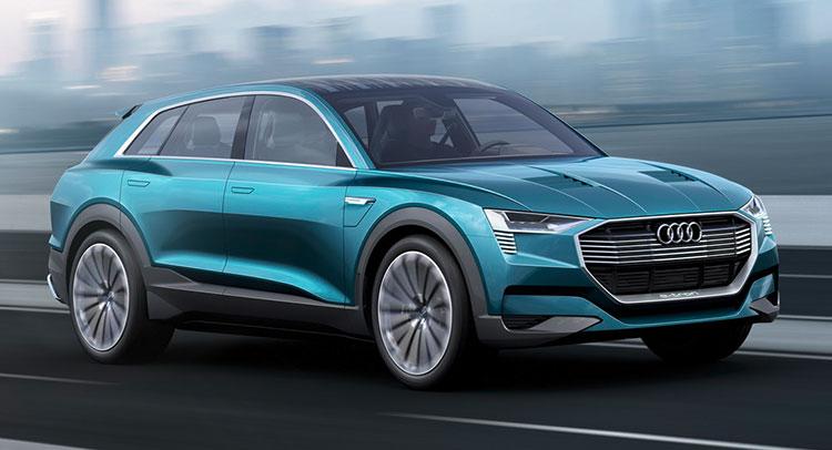 Audi E-Tron Quattro Concept - -