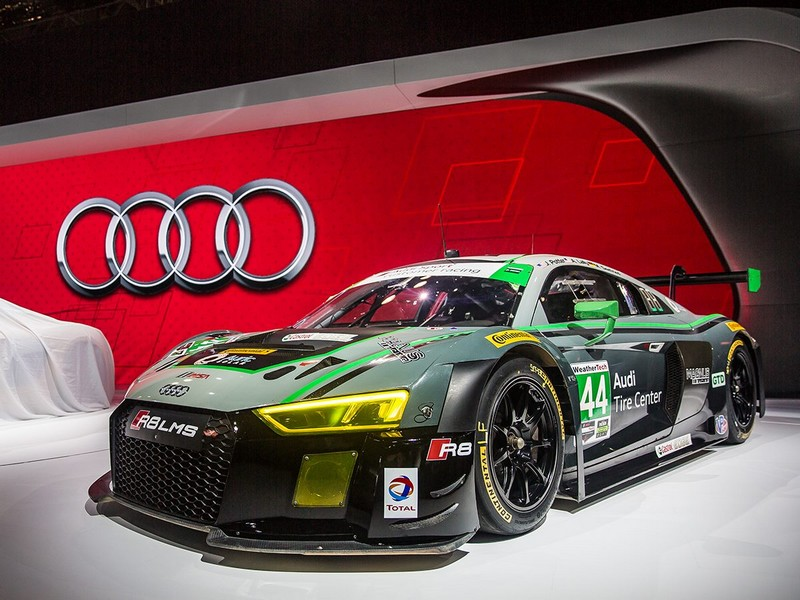 Audi R8 LMS NAIAS