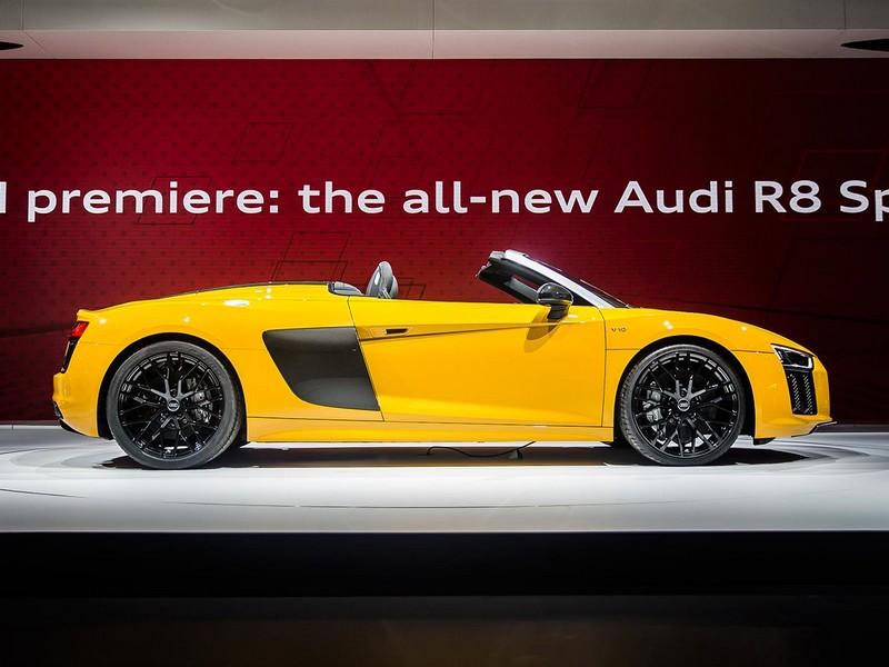 Audi R8 Spyder delivers undiluted emotion-